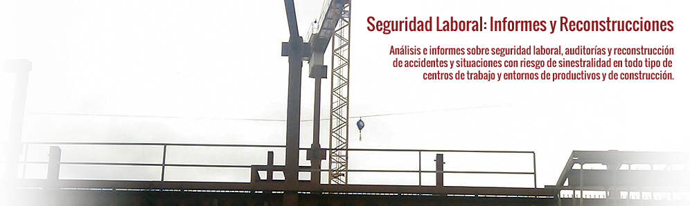 Seguridad Laboral - Informes - Reconstrucción de Accidentes
